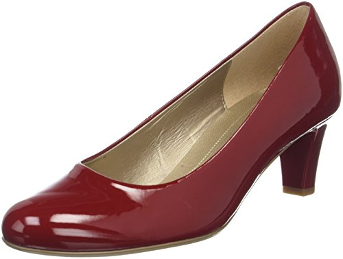 Gabor Shoes Damen Basic Pumps, Rot (Cherry), 39 EU