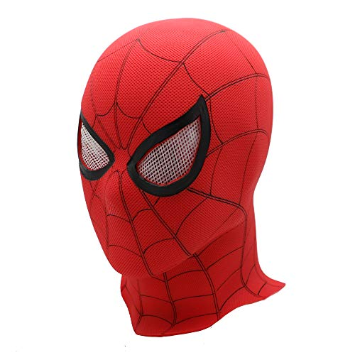 Spiderman Maske Halloween Kostüm Party PVC Spiderman Homecoming Helm Geschenk Spielzeug - Red B (Pvc Halloween-maske)
