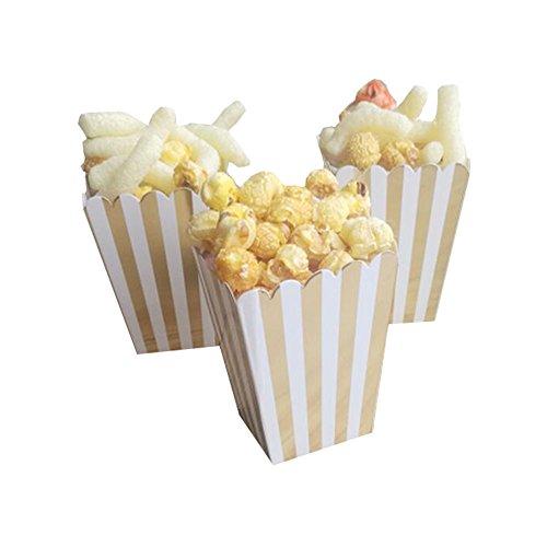 Black Temptation Popcorn Boxes Fries Cups Partyartikel - A3-12PCS