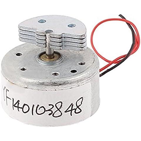 DC 3V 5000 rpm de velocidad de salida de reemplazo miniatura motor de vibración