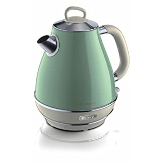 Ariete Vintage 2869 G Retro Kettle Cone Style Green