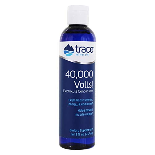 Trace Minerals Research, 40,000 Volts! Elektrolyte-Konzentrat 237 ml