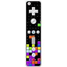 "'Disagu Design Skin para Nintendo Wii Controller–Diseño Tetris No. 2"""