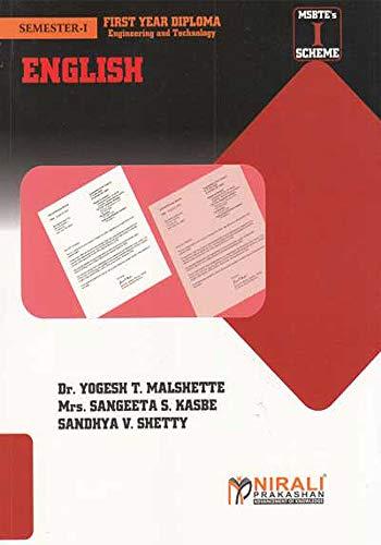ENGLISH eBook: DR  YOGESH T  MALSHETTE, SONALI Y  MALSHETTE, SANDHYA