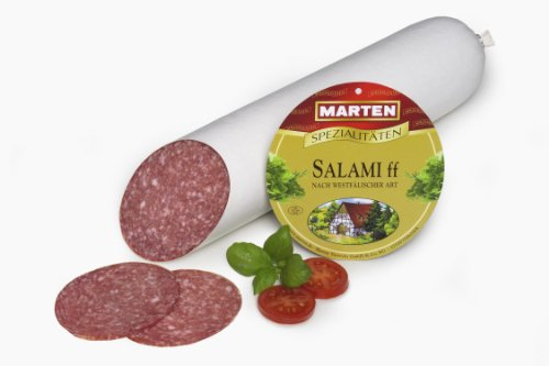 MARTEN Salami 1A ff (weißer Darm - ca. 1kg) nach westfälischer Art