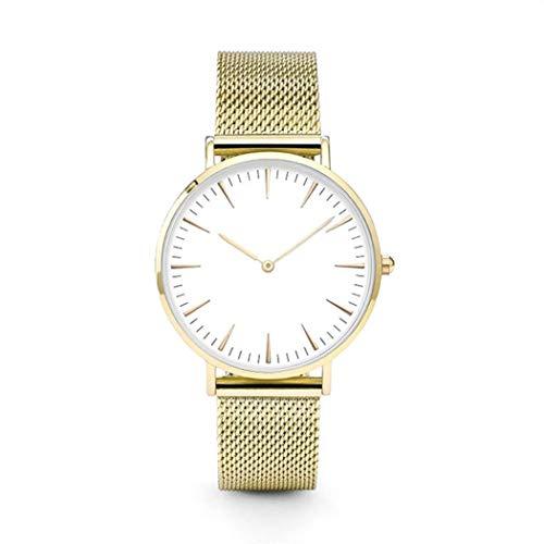 Uhren Luxus Edelstahl Uhr Analog Quarz Armband Armbanduhren Neue Kinlin Unisex Uhren