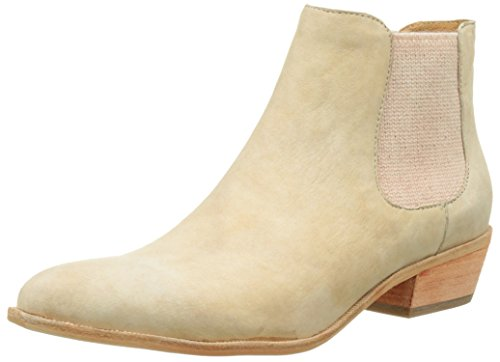 Un Matin d'Eté Garmia, Bottines Chelsea Femme Beige  (Chevre Movida)