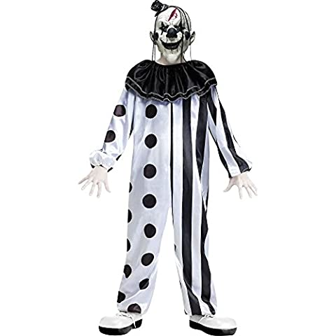 Child Killer Clown Costume: Medium (Age
