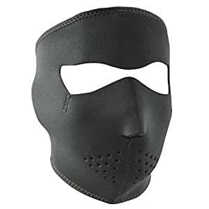 Zanheadgear Black Neoprene Face Mask Amazon Co Uk Car