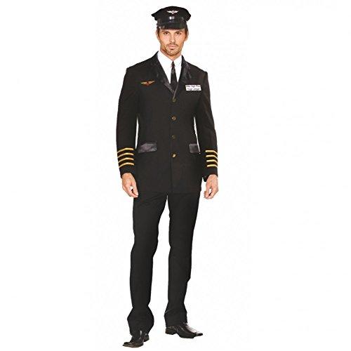 Kostüm Flugkapitän - Dreamgirl AG Kostüm Flugkapitän Alex Gr. XL Piloten Jacke Mütze Uniform Pilot Fasching