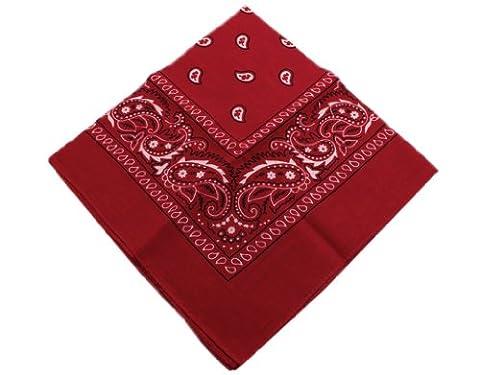 BONAMART ® Paisley Bandana Motorbike Biker Headwrap Scarf Handkerchief