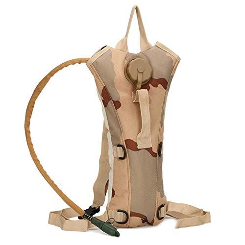 Ailizhen Gut gefertigte große Wasserfülle 3L Wassertasche Wassertasche Backpackage Wandern Camping Reiten(None H)