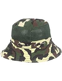 FH Sombrero de Camuflaje de Verano Nuevo Sombrero de Pescador Sombrero de Escalada al Aire Libre