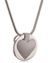 Esprit Damen-Kette HEART SHAPE 43 cm S.ESNL90014A430