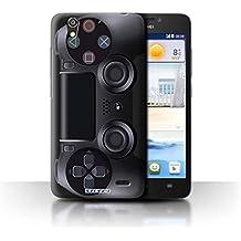 Carcasa/Funda STUFF4 dura para el Huawei Ascend G630 / serie: Consola de juegos - PlayStation PS4