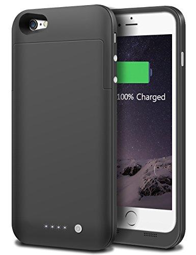 Custodia Batteria per iphone6/6S,Custodia Cover Protettiva con Batteria Ricaricabile Esterna da 3800mAh per Apple iphone 6/6S(4.7'' Pollici)