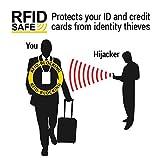 Brustbeutel für Damen und Herren zum Reisen – Brusttasche mit RFID-Blockierung – Umhängetasche Klein - 5
