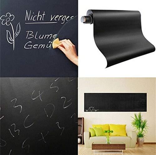 Fushoulu 60 * 200 Cm Neue Kreide Board Tafel Aufkleber Abnehmbare Vinyl Ziehen Dekor Wandtattoo Kunst Tafel Wandaufkleber Haus Liefert