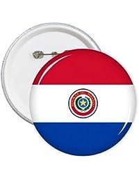 DIYthinker Paraguay Nacional de la bandera de América del Sur País símbolo de la marca Modelo