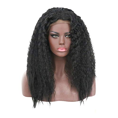 Wig girl Haarperücke, mit Perücken, für Mädchen, für die Frau, Cosplay, Festival Musica Rock 20inch