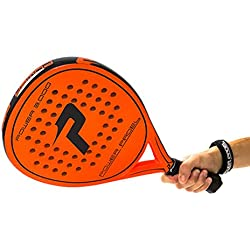 Power Padel 3000 - Pala de pádel, color naranja
