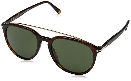 Persol Herren 0Po3159S 901531 55 Sonnenbrille, Braun (Havana/Green),