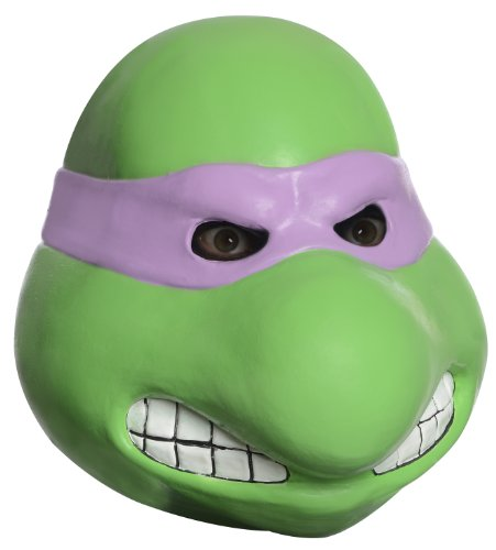 Ninja Kostüm Latex (Teenage Mutant Ninja Turtles Donatello Latex Kostüm)
