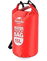Naturehike 15 L Drifting Rafting Bag-Bolso Impermeable Borsan Waterproof Bag rojo