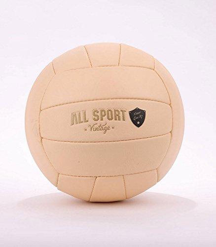 ALL SPORT VINTAGE Balón de Voleibol-Clair