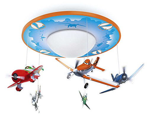 Philips Disney Planes LED Deckenleuchte, orange/blau, 717625316