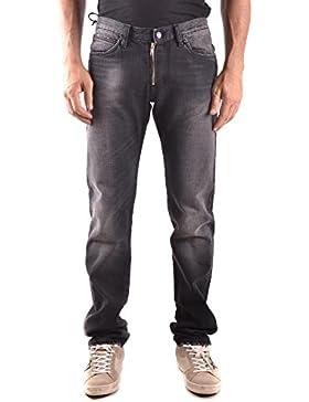 Daniele Alessandrini Hombre MCBI086589O Negro Algodon Jeans