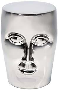 Kare 76682 Tabouret Face (Argent)