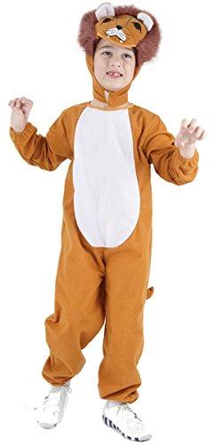 Löwen-Kostüm für Kinder 140/152 (10-12 Jahre)