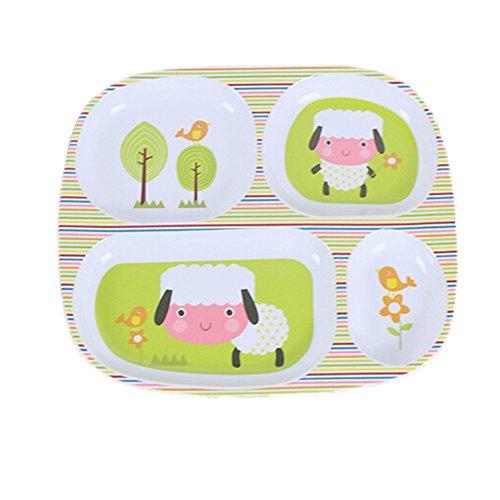 Gro?e Teller / Geteilte Teller / Baby-Dinner Tray B - Für Aufgeteilt Platten Kinder