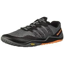 Merrell Men's's Trail Glove 5 Fitness Shoes, Grey (Castlerock Castlerock), 7.5 UK (41.5 EU)