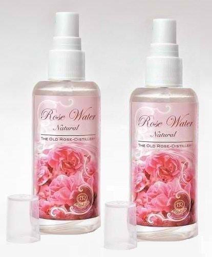 2x Natur rose-water face-sprays zu Revive & der Haut Feuchtigkeit (2x 100ml Flaschen)