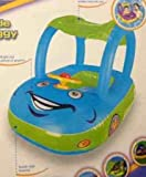 Inflatable Baby Float Seat Boat Beach Car Sun Shade Water Swimming Pool Canopy