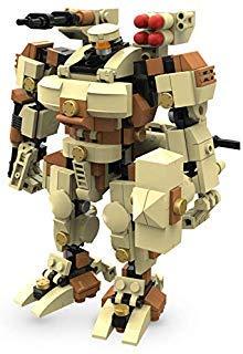 MyBuild Mechatrahmen Titan 6012 Sci-Fi 6 Zoll Mecha Kit Bauklötze Bauklötze Set - Mech-modell-kit