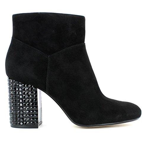 Michael Michael Kors Clara Wedge Boot Women US 11 Black Wedge Heel