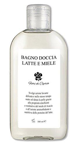 Milch Und Honig Duschcreme - Optimale Pflege Für Die Tägliche Dusche, Auch Für Empfindliche, Trockene Und Gereizte Haut. - Made In Italy - 500 Ml (Limette Tee Grüner)