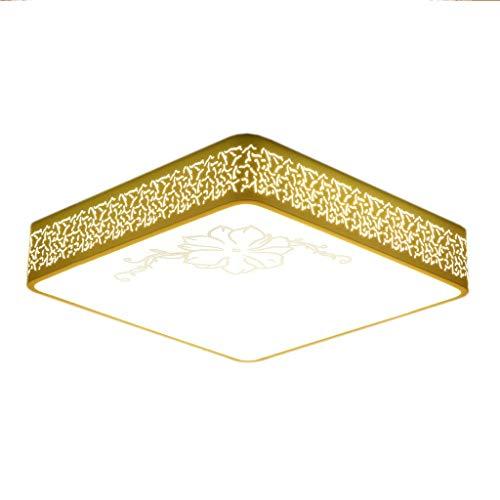 Giow Quadratische Form LED Druck Licht Einfache Exquisite Schlafzimmer Wohnzimmer Küche Deckenleuchte Mode Warme Büro Dekorative Beleuchtung THANSANDAU -