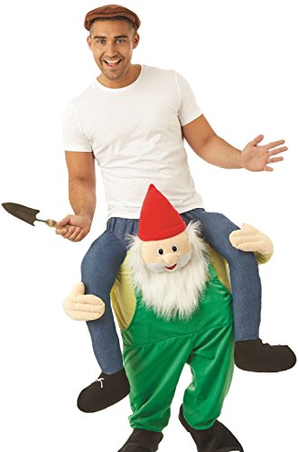 Adults Lift Me Up Gnome Dwarf Fairy Tale Carnival Stag Do Night Comedy  Party Fancy Dress Costume Outfit | Gnomelands