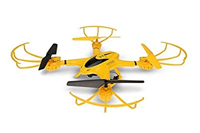 Holy Stone iPhone & Android live coverage possible with a drone camera advanced maintain automatic hovering function mode freely convertible Allowed 2.4GHz 4CH 6-axis gyro 720P high pixel FPV real-time Japanese manual X401H-V2 (yellow)