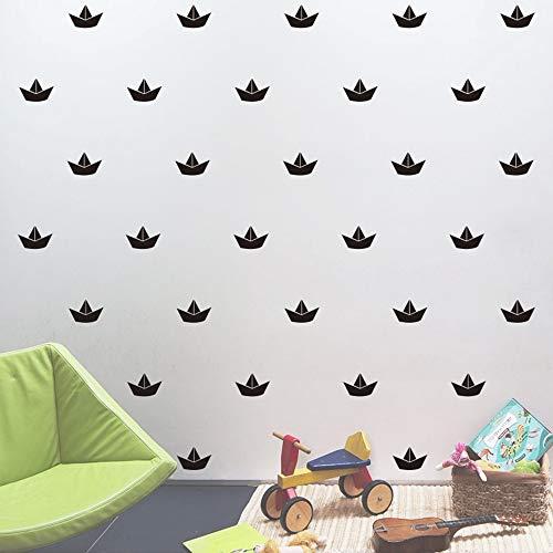 AFTUZC Wandaufkleber,16 STK/Set Cartoon Boot Form Wand Aufkleber Für Kinder Baby Zimmer Schrank Poster Kind Geschenk Weihnachten Dekoration Vinyl Wand Aufkleber