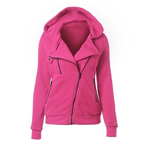 YL - Sweat-shirt - Femme rose bonbon