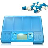 Pillen-Organisator-Wöchentlicher Medizin-Organisator-Pillen-Behälter-Kasten-Intelligentes Elektronisches Zeitungs-Ausrüstungs-Medikations-Timer... preisvergleich bei billige-tabletten.eu
