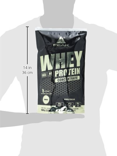 Peak Whey Concentrate 1000 g Beutel Vanille - 5