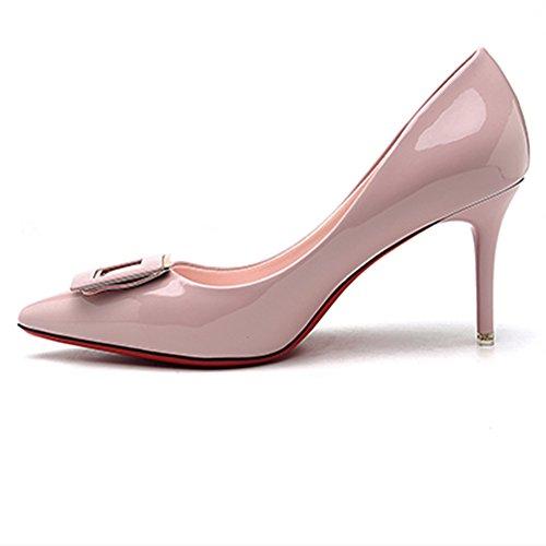 Bbdsj Donne Tacchi Alti Tacchi Sexy Fashion 9cm Tacchi A Punta Tacchi A Spillo Tacchi Alti Scarpe Da Donna Professionali.tacchi Alti Rosa A