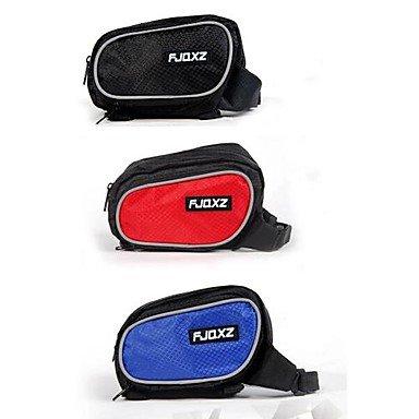 ZXC/ neuen Stil 420d wasserdicht Fahrrad Wale Tasche Red