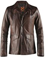 Hitman Mens Leather Jacket Made in Italy